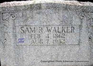 WALKER, SAM R - Scott County, Arkansas | SAM R WALKER - Arkansas Gravestone Photos
