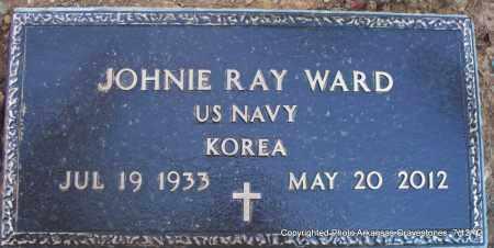 WARD (VETERAN KOR), JOHNIE RAY - Scott County, Arkansas | JOHNIE RAY WARD (VETERAN KOR) - Arkansas Gravestone Photos