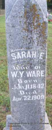 WARE, SARAH E - Scott County, Arkansas | SARAH E WARE - Arkansas Gravestone Photos