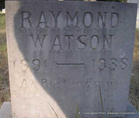 WATSON, RAYMOND - Scott County, Arkansas | RAYMOND WATSON - Arkansas Gravestone Photos
