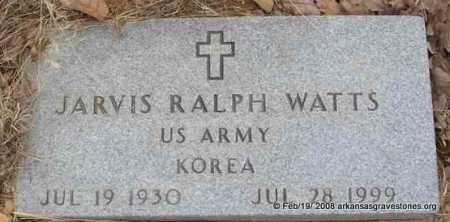 """WATTS  (VETERAN KOR), JARVIS RALPH """"HEAVY"""" - Scott County, Arkansas   JARVIS RALPH """"HEAVY"""" WATTS  (VETERAN KOR) - Arkansas Gravestone Photos"""