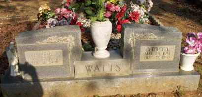WATTS, GEORGE L - Scott County, Arkansas | GEORGE L WATTS - Arkansas Gravestone Photos