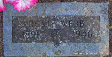WEBB, DOVIE - Scott County, Arkansas | DOVIE WEBB - Arkansas Gravestone Photos