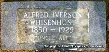 WHISENHUNT, ALFRED IVERSON - Scott County, Arkansas | ALFRED IVERSON WHISENHUNT - Arkansas Gravestone Photos