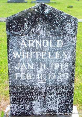 WHITELEY, ARNOLD - Scott County, Arkansas | ARNOLD WHITELEY - Arkansas Gravestone Photos