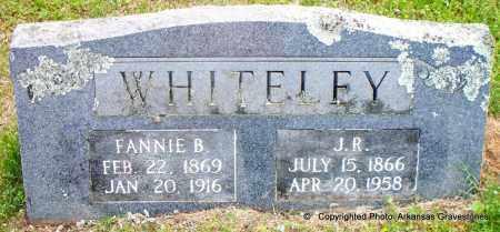 WHITELEY, J R - Scott County, Arkansas | J R WHITELEY - Arkansas Gravestone Photos