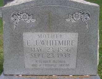 WHITMIRE, E  J - Scott County, Arkansas | E  J WHITMIRE - Arkansas Gravestone Photos
