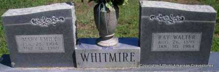 WHITMIRE, RAY WALTER - Scott County, Arkansas   RAY WALTER WHITMIRE - Arkansas Gravestone Photos