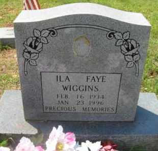 WIGGINS, ILA FAYE - Scott County, Arkansas | ILA FAYE WIGGINS - Arkansas Gravestone Photos