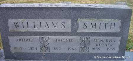 SMITH, MANERVIA - Scott County, Arkansas | MANERVIA SMITH - Arkansas Gravestone Photos