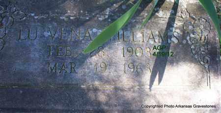 WILLIAMS, LU VENA - Scott County, Arkansas | LU VENA WILLIAMS - Arkansas Gravestone Photos