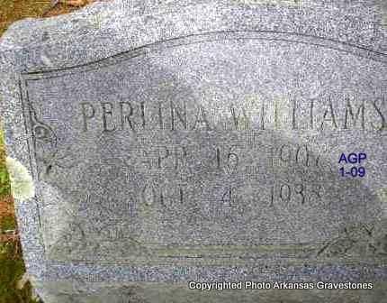 WILLIAMS, PERLINA - Scott County, Arkansas | PERLINA WILLIAMS - Arkansas Gravestone Photos