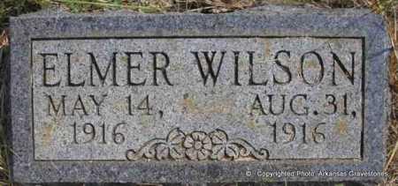 WILSON, ELMER - Scott County, Arkansas   ELMER WILSON - Arkansas Gravestone Photos