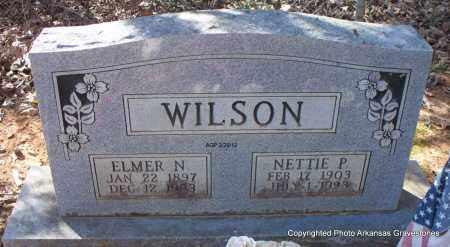 WILSON, NETTIE P - Scott County, Arkansas | NETTIE P WILSON - Arkansas Gravestone Photos