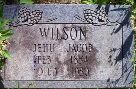 WILSON, JEHU JACOB - Scott County, Arkansas   JEHU JACOB WILSON - Arkansas Gravestone Photos