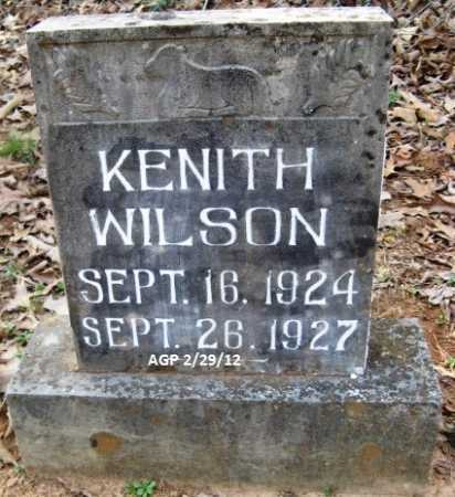 WILSON, KENITH - Scott County, Arkansas | KENITH WILSON - Arkansas Gravestone Photos