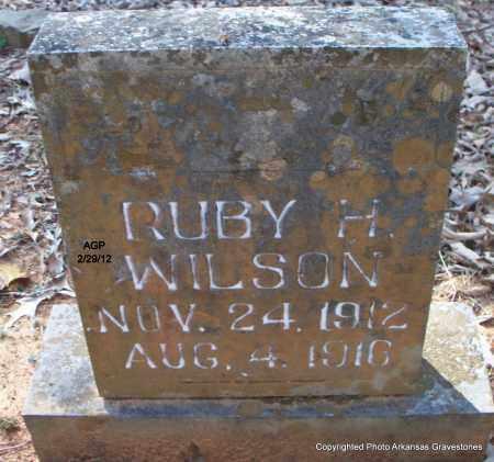 WILSON, RUBY H - Scott County, Arkansas | RUBY H WILSON - Arkansas Gravestone Photos