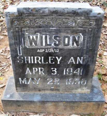 WILSON, SHIRLEY ANN - Scott County, Arkansas   SHIRLEY ANN WILSON - Arkansas Gravestone Photos