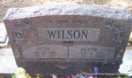 WILSON, TESSIE - Scott County, Arkansas | TESSIE WILSON - Arkansas Gravestone Photos