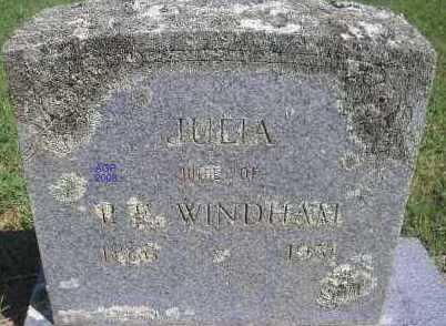 WINDHAM, JULIA - Scott County, Arkansas | JULIA WINDHAM - Arkansas Gravestone Photos