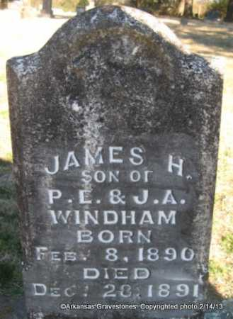 WINDHAM, JAMES H - Scott County, Arkansas | JAMES H WINDHAM - Arkansas Gravestone Photos