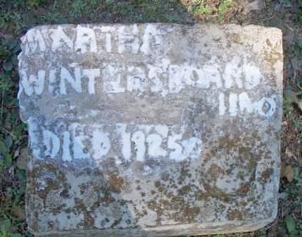 WINTERS, MARTHA - Scott County, Arkansas | MARTHA WINTERS - Arkansas Gravestone Photos