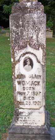 WOMACK, JOHN BLAIN - Scott County, Arkansas | JOHN BLAIN WOMACK - Arkansas Gravestone Photos