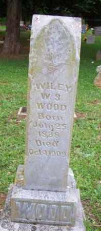 WOOD, WILEY W S - Scott County, Arkansas   WILEY W S WOOD - Arkansas Gravestone Photos