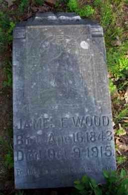 WOOD  (VETERAN CSA), JAMES E - Scott County, Arkansas | JAMES E WOOD  (VETERAN CSA) - Arkansas Gravestone Photos