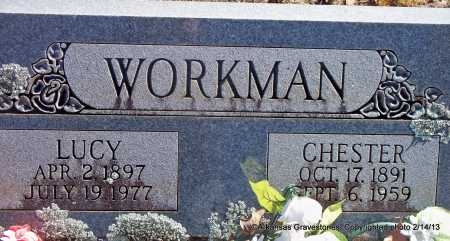 WORKMAN, LUCY - Scott County, Arkansas | LUCY WORKMAN - Arkansas Gravestone Photos