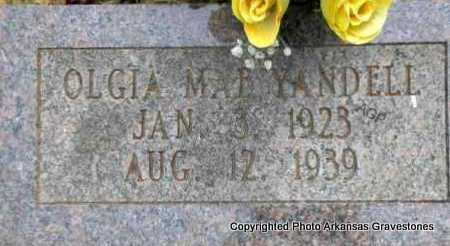 YANDELL, OLGIA MAE - Scott County, Arkansas   OLGIA MAE YANDELL - Arkansas Gravestone Photos