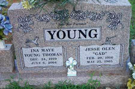 YOUNG, INA MAYE - Scott County, Arkansas | INA MAYE YOUNG - Arkansas Gravestone Photos