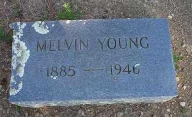 YOUNG, MELVIN - Scott County, Arkansas | MELVIN YOUNG - Arkansas Gravestone Photos