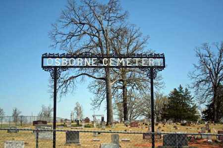 *OSBORNE CEMETERY GATE,  - Searcy County, Arkansas |  *OSBORNE CEMETERY GATE - Arkansas Gravestone Photos