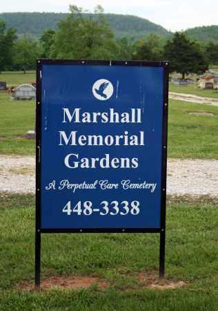 *MARSHALL MEMORIAL GARDENS GA,  - Searcy County, Arkansas |  *MARSHALL MEMORIAL GARDENS GA - Arkansas Gravestone Photos