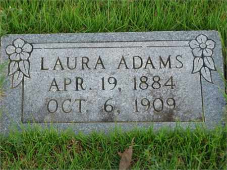 ADAMS, LAURA - Searcy County, Arkansas | LAURA ADAMS - Arkansas Gravestone Photos