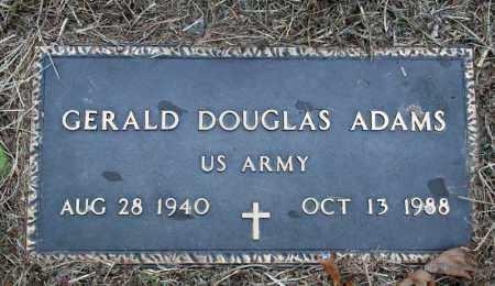 ADAMS (VETERAN), GERALD DOUGLAS - Searcy County, Arkansas   GERALD DOUGLAS ADAMS (VETERAN) - Arkansas Gravestone Photos