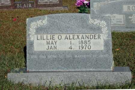 ALEXANDER, LILLIE O. - Searcy County, Arkansas   LILLIE O. ALEXANDER - Arkansas Gravestone Photos