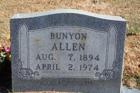 ALLEN, BUNYON - Searcy County, Arkansas | BUNYON ALLEN - Arkansas Gravestone Photos