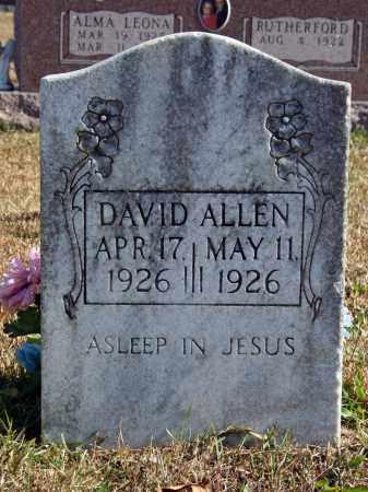 ALLEN, DAVID - Searcy County, Arkansas   DAVID ALLEN - Arkansas Gravestone Photos