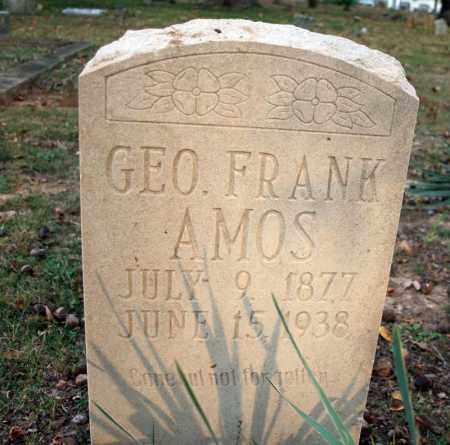 AMOS, GEO. FRANK - Searcy County, Arkansas | GEO. FRANK AMOS - Arkansas Gravestone Photos