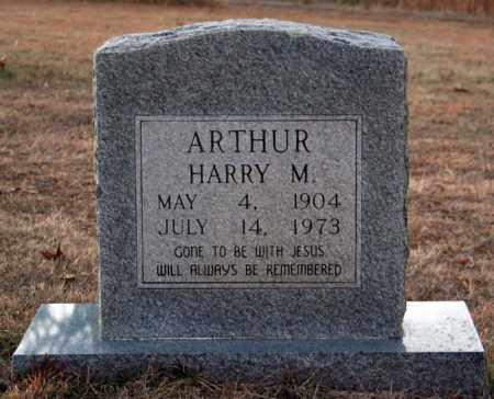 ARTHUR, HARRY M. - Searcy County, Arkansas | HARRY M. ARTHUR - Arkansas Gravestone Photos