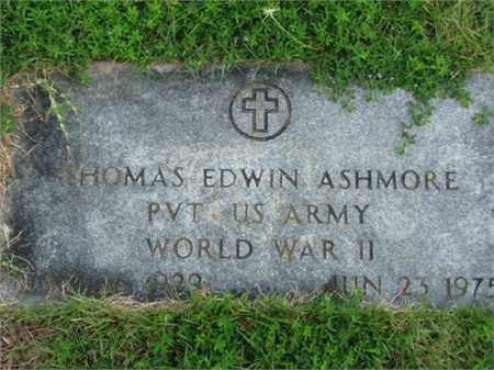 ASHMORE (VETERAN WWII), THOMAS EDWIN - Searcy County, Arkansas | THOMAS EDWIN ASHMORE (VETERAN WWII) - Arkansas Gravestone Photos