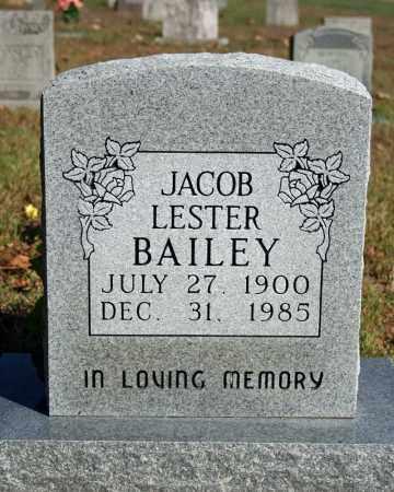 BAILEY, JACOB LESTER - Searcy County, Arkansas   JACOB LESTER BAILEY - Arkansas Gravestone Photos