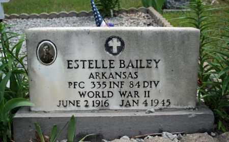 BAILEY (VETERAN WWII), ESTELLE - Searcy County, Arkansas | ESTELLE BAILEY (VETERAN WWII) - Arkansas Gravestone Photos