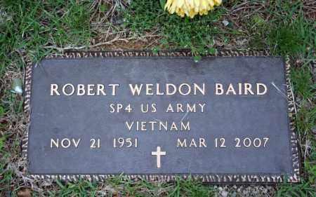 BAIRD (VETERAN VIET), ROBERT WELDON - Searcy County, Arkansas   ROBERT WELDON BAIRD (VETERAN VIET) - Arkansas Gravestone Photos