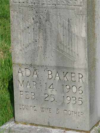 BAKER, ADA - Searcy County, Arkansas   ADA BAKER - Arkansas Gravestone Photos
