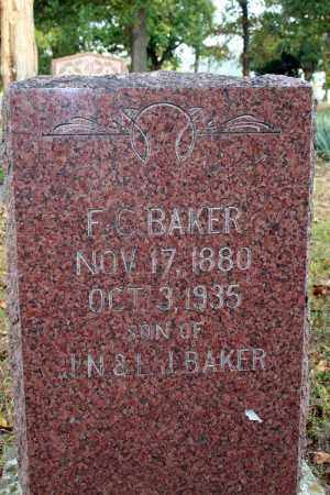 BAKER, F.C. (CALVIN) - Searcy County, Arkansas | F.C. (CALVIN) BAKER - Arkansas Gravestone Photos