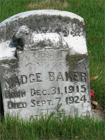 BAKER, MADGE - Searcy County, Arkansas | MADGE BAKER - Arkansas Gravestone Photos