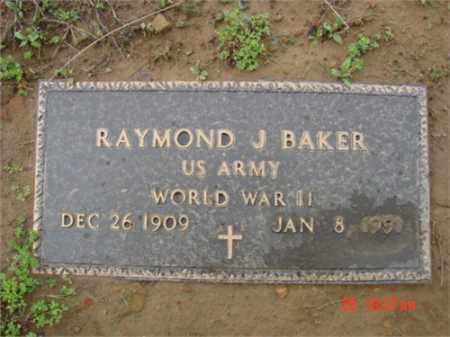 BAKER (VETERAN WWII), RAYMOND - Searcy County, Arkansas | RAYMOND BAKER (VETERAN WWII) - Arkansas Gravestone Photos